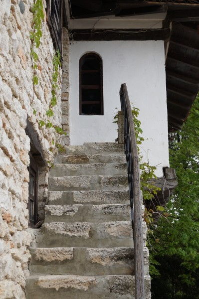 Stairs of an old traditional house