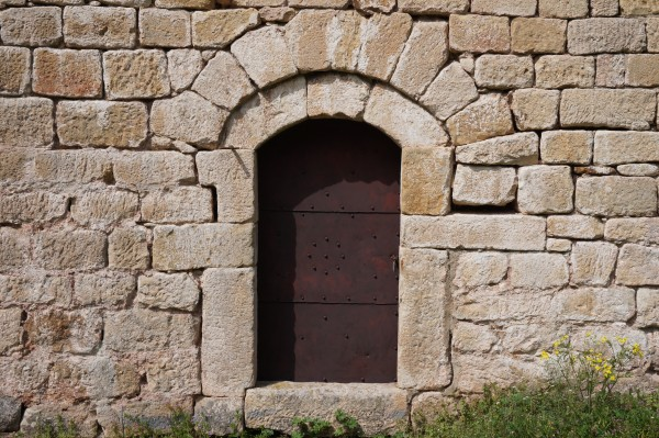 Iron door in a stone wall variation2