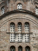Windows of a Byzantine church