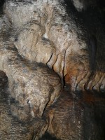 Cave stone formation