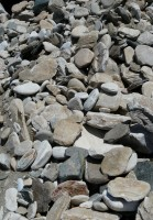 Big size pebbles and stones