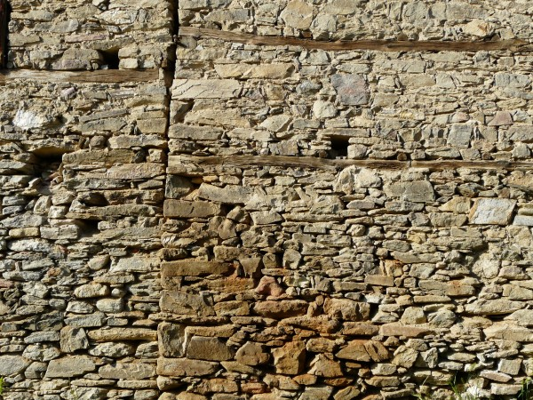 Stone wall of a fortress
