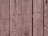 Brown paint board fence